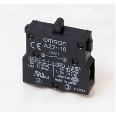 A22-10 OMRON Блок контактов