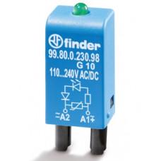 Модуль индикации и защиты Finder 99.80.0.230.98