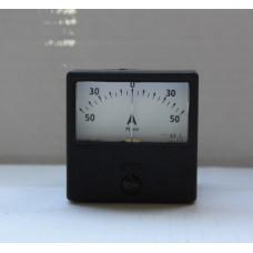 Амперметр М2001-М1 50-0-50А кл.т. 2.5