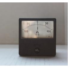 Амперметр М2001-М1 100-0-100