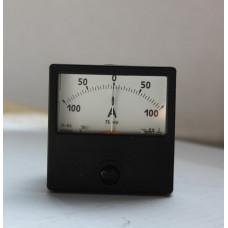 Амперметр М2001 100-0-100А кл.т. 2.5
