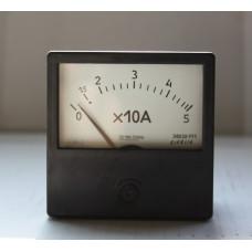 Амперметр Э8030-М1 0-5х10(50А) кл.т. 2.5