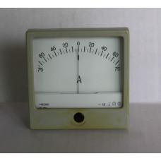 Амперметр М42100 75-0-75А