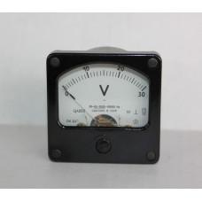 Вольтметр Ц4202 0-30V кл.т. 2.5