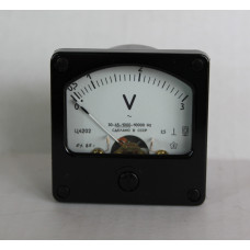 Вольтметр Ц4202 0-3V кл.т. 2.5