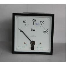 Ваттметр Д37 0-200KW кл.т. 2.5