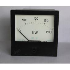 Ваттметр Ц301 0-200KW кл.т. 2.5