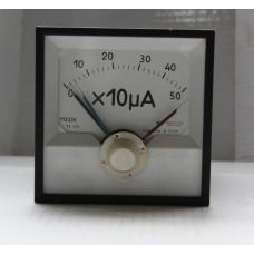 Амперметр М333К (0-50х10мА)500 мА