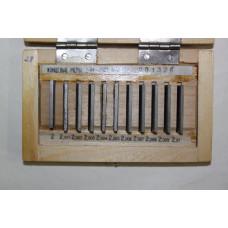 Набор концевых мер длины КМД № 4 класс 2(2-Н4)
