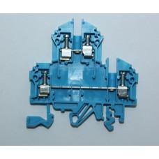 Клемма двухуровневая RKD 2.5 синий