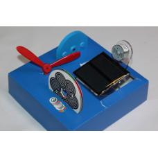 Малый экспериментальный набор на солнечной батарее