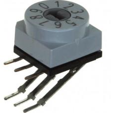 Кодовый поворотный переключатель PT65101L508
