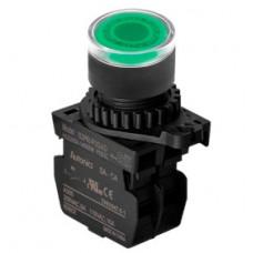 Кнопка нажатия S2PR-P3GAL с подсветкой, HO