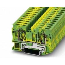 Клемма защитного провода - ST 6-PE – 3031500