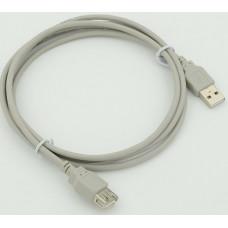 Кабель-удлинитель USB A (m) - USB A (f), 1.8 м