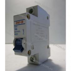 Автоматический выключатель ВА 67-29 D 16A 240v (1p)