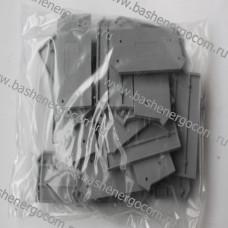 Торцевая пластина WAGO283-316