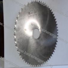 Пилы круглые плоские для поперечной и продольной распиловки древесины, сталь 9ХФ