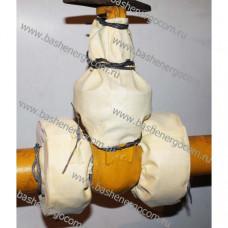 Кожух Защитный КЗТТ (текстильный, термостойкий) для трубопроводной арматуры