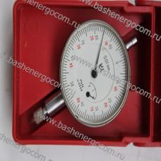 Индикатор ИЧ 02 часового типа с ценой деления 0,01мм кл.точности 1