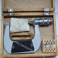 Микрометр со вставками (резьбовой) МВМ 100 (75-100) с ценой деления 0,01мм
