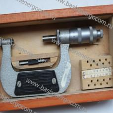 Микрометр со вставками (резьбовой) МВМ 75 (50-75)