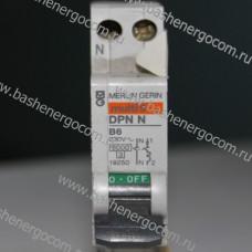 Автоматический выключатель DPN N В6А 230v (1P)