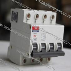 Автоматический выключатель ВА47-63 240/415В D2 4Р