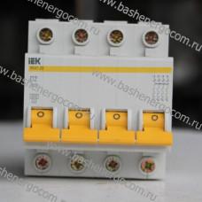 Автоматический выключатель IEK ВА47-29 4Р D2