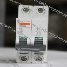 Автоматический выключатель Merlin Gerin Multi 9 C60N C3A 400V