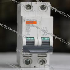 Автоматический выключатель Merlin Gerin Multi 9 C60N C0,5A 400V