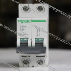 Автоматический выключатель SCHNEIDER ELECTRIC C60N D 6A  415V