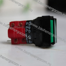 Кнопка без фиксации D16LMS1-2ab 250V/5A
