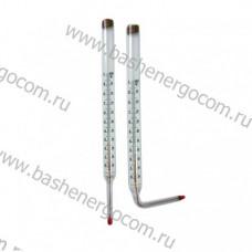 Стеклянные ртутные термометры типа  ТТМ П-6