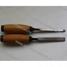 Долото столярное штампованное 8 мм дер. ручка