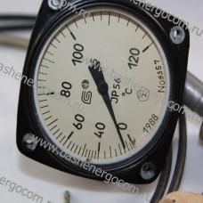 Термометр манометрический виброустойчивый ТКП-60/3М
