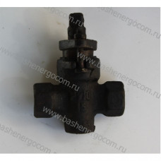 Клапан запорный (вентиль) проходной Ру-10 Ду-15